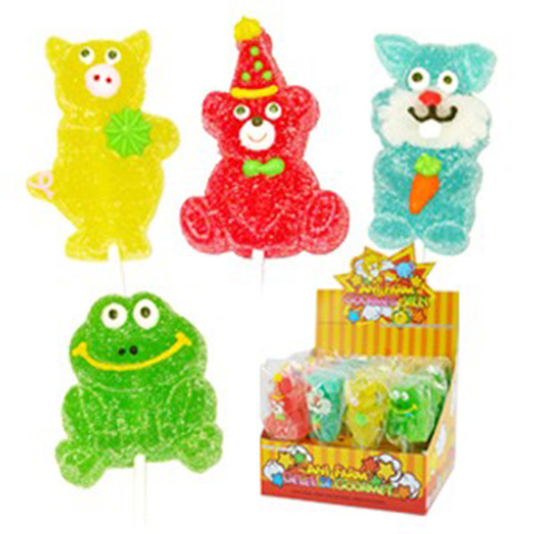 hand decorated halal jelly pop jelly lollipop candy