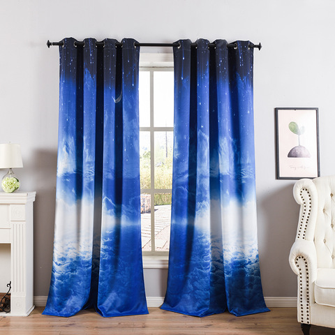 Window Curtains 100% Polyester Blackout Curtains For The Living Room pictures & photos