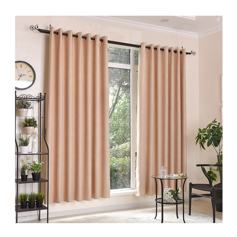 2019 new arrival dyeing woven fancy bedroom simple in stock curtain pictures & photos