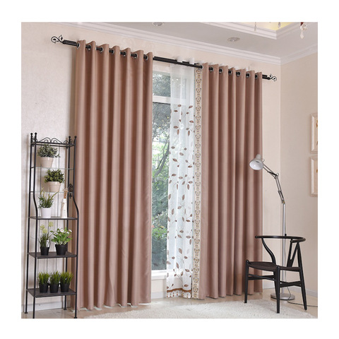 Chinese best material grommet living room latest sunshade curtain cloth