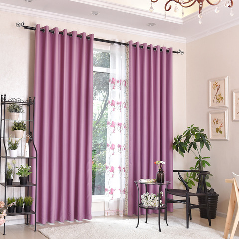 Factory cheap price high shading curtain design for window solid curtain pictures & photos