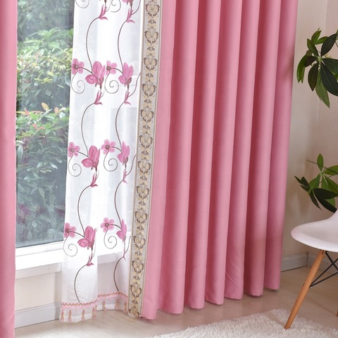 Factory hot selling simple style home living room curtain for window pictures & photos