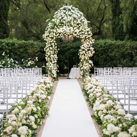 2020 sgs approved superior quality hot selling customized size white wedding stage carpet pictures & photos