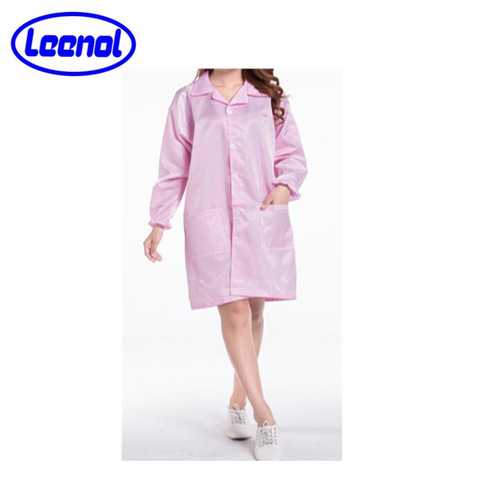 Cheap Price Cleanroom esd Garment 5mm strip Gown pictures & photos