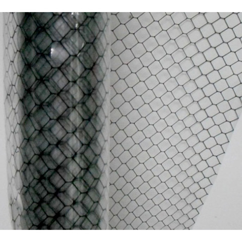 Conductive Grid Curtain Transparent Antistatic PVC Rolls for Curtains pictures & photos