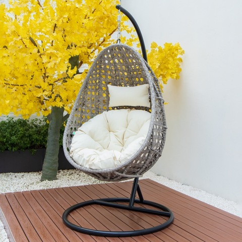 modern outdoor patio swing chair banana shape swing chair hanging swing chair pictures & photos