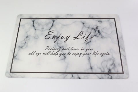 Fashion Design Printed Anti Fatigue Anti-Slip Kitchen Soft Floor Mat pictures & photos