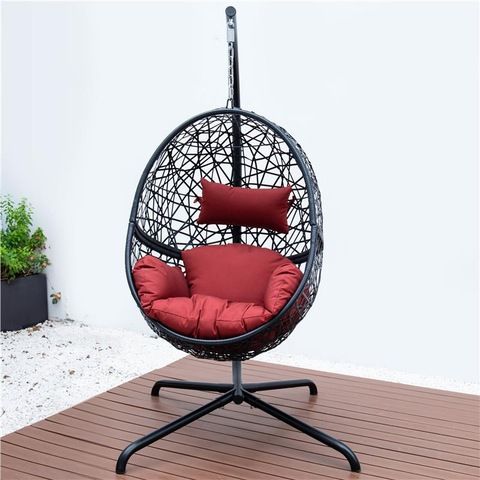 Premium Outdoor Hanging Rattan Egg Chair Leisure Wicker Patio Swing Chair pictures & photos