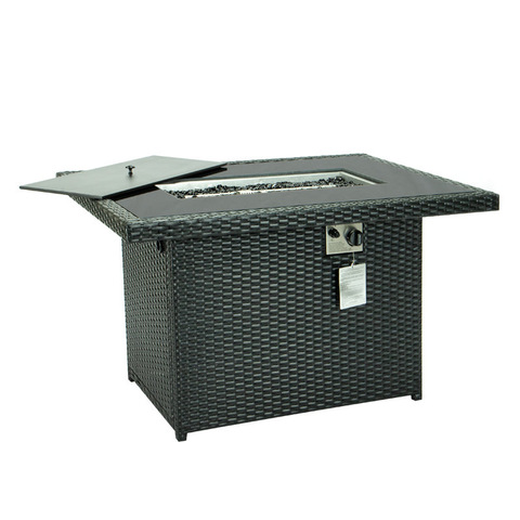 Propane Gas Fire Pit Table 55000 BTU Outdoor Companion Auto-Ignition Fire Table pictures & photos