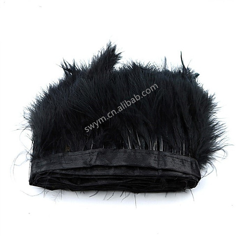 Cheap Marabou Trimming Turkey Feather Fringe Trim pictures & photos