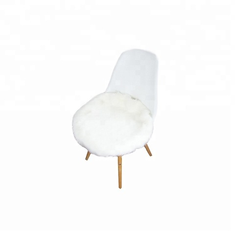fluffy round long hair faux fur sheepskin rugs for home pictures & photos