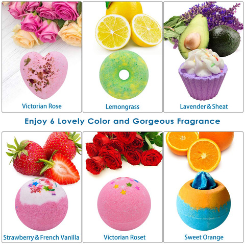 Handmade OEM Shea Butter Vegan Box Cbd Gift Set Fizzy Bubble Bath Bombs Cupcake Natural pictures & photos