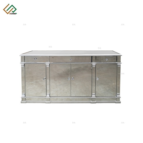 Modern Furniture Mirrored Buffet Cabinet With Storage pictures & photos