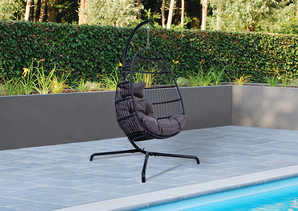 Patio Swings Rope Furniture Swinging Rope Chair Garden Egg Hanging Swing Chairs pictures & photos