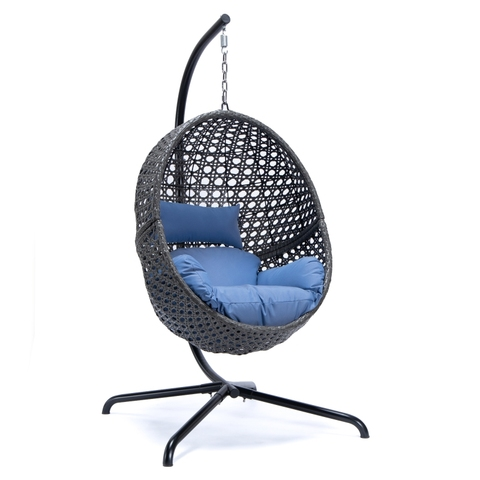 Outdoor Hanging Rattan Egg Chair Leisure Wicker Patio Swing Chair pictures & photos