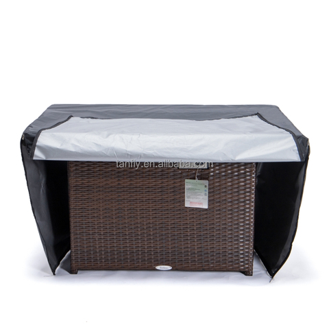 Premium Waterproof UV Resistant Fabric Outdoor Furniture Fire Pit Cover pictures & photos