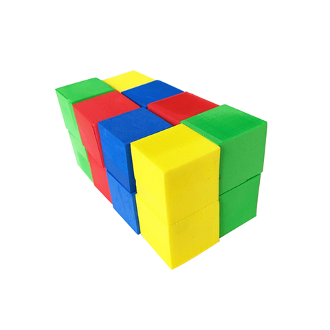 Eco-friendly Material Safety Soft DIY Learning Educational Puzzle EVA Foam Blocks for Kids