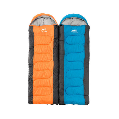 BSZZ004 Hiking Manufacture Waterproof Outdoor Mountaineering Winter Envelop Sleeping Bag For Camping pictures & photos
