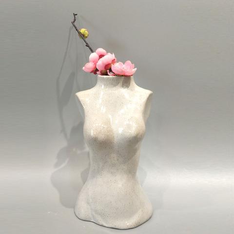 Body shape design flower pot custom desk decoration flower pot pictures & photos