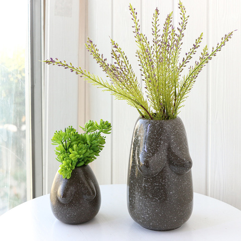 Chinese flower pot factory ceramic body arts flower pot designs pictures & photos