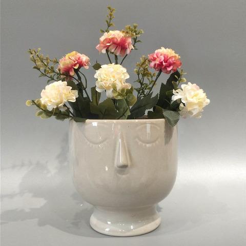Creative handmade artificial flower pot ceramic flower pot pictures & photos
