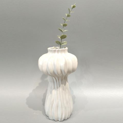 Desktop decorative ornament white flower pot vase small size pictures & photos