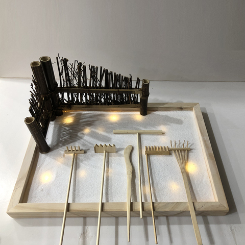Fairy zen garden accessories rake set zen garden rakes