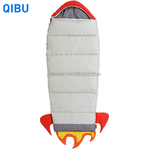 KS13 Qibu rocket and animal style children sleeping bag lightweight portable custom sleeping bags for kids pictures & photos