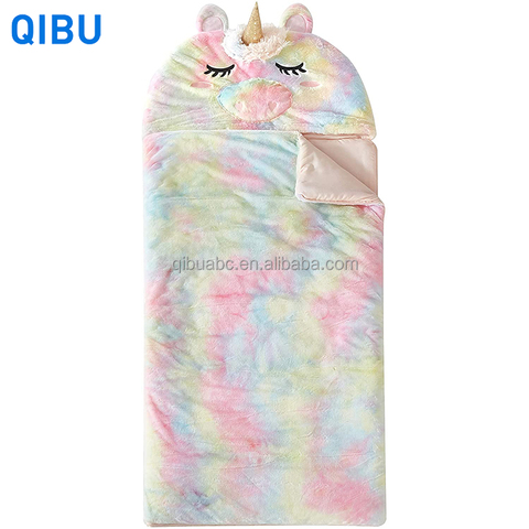 KS4 most popular kids unicorn sleeping bag lightweight portable organic cotton children sleeping bag pictures & photos