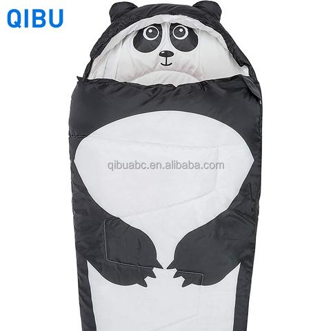 KS7 Qibu panda children sleeping bag animal lightweight baby sleeping bag ultra-soft fluffy pictures & photos