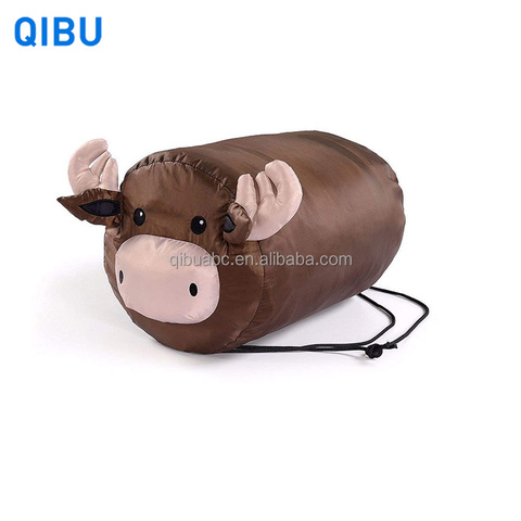Lovely Brown Pig Children Sleeping Bag for Kids Portable And Breathable with Animal Design pictures & photos