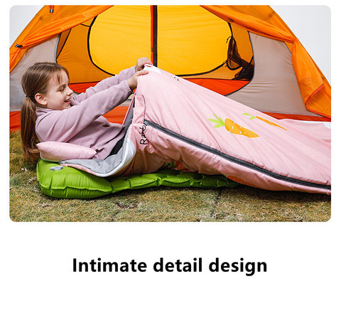 Manufacture Single Hot Selling Duck Down Lightweight Custom Kid Camping Sleeping Bag pictures & photos