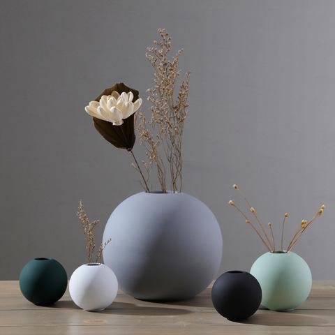 Morandi Nordicins Decoration ceramic spherical vase simple living room creative home decoration ceramic crafts pictures & photos