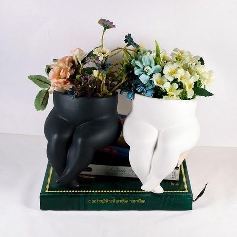 Tabletop decorative porcelain vases body flower vase for sale pictures & photos