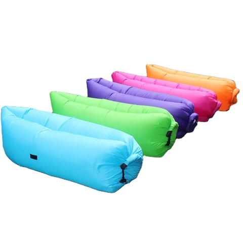 2021 Summer Inflatable Easy Fashion Beach Air Bed Sleeping Mat pictures & photos