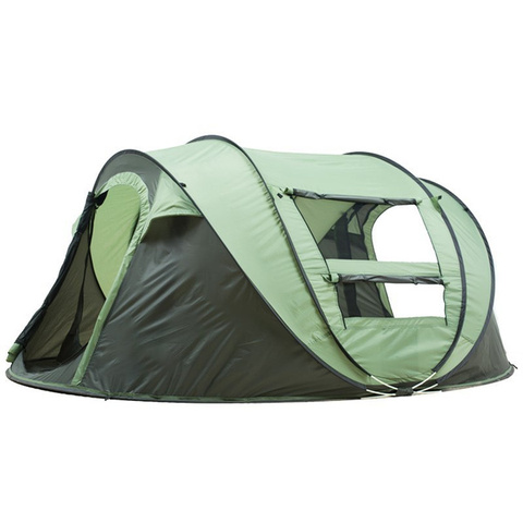 3 IN 1 Auto Setup Waterproof UV Resistance Sun Shelters Outdoor Hiking Fishing Travel Beach 5-8 Person Big Family Turbo Tent pictures & photos